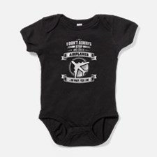 I Don't Always Stop And Look At Airp Baby Bodysuit