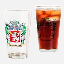 Macnamara Coat of Arms - Family Cre Drinking Glass