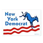 New York Democrat Postcards