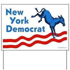 New York Democrat Yard Sign