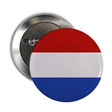 """Netherlands Flag"" 2.25"" Button"