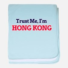 Trust Me, I'm Hong Kong baby blanket