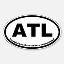 Hartsfield-Jackson International Oval Decal