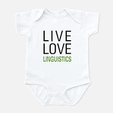 Live Love Linguistics Infant Bodysuit