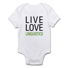 Live Love Linguistics Onesie