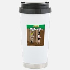 Bond of the Apes Stainless Steel Travel Mug