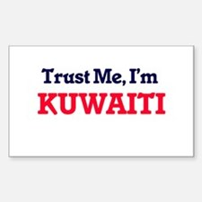 Trust Me, I'm Kuwaiti Decal