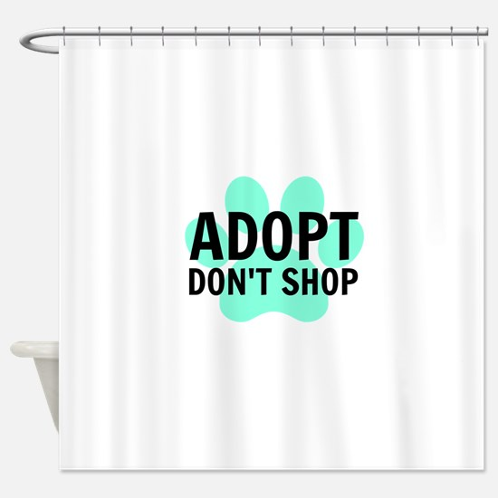 Adopt Shower Curtain