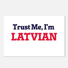 Trust Me, I'm Latvian Postcards (Package of 8)