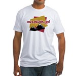 Mountain Girl Fitted T-Shirt