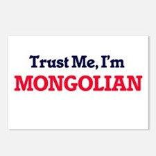 Trust Me, I'm Mongolian Postcards (Package of 8)
