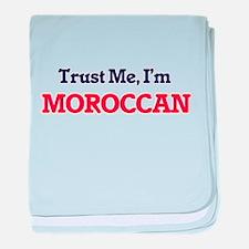 Trust Me, I'm Moroccan baby blanket