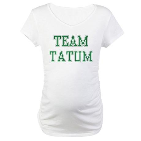 TEAM TATUM Maternity T-Shirt