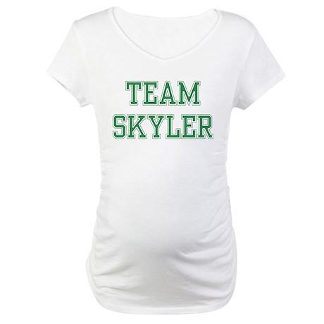 TEAM SKYLER Maternity T-Shirt