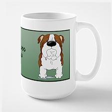 Big Nose Bulldog Dad Mugs