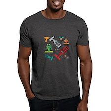 Cartoon Racecars T-Shirt