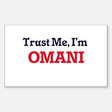 Trust Me, I'm Omani Decal