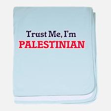 Trust Me, I'm Palestinian baby blanket