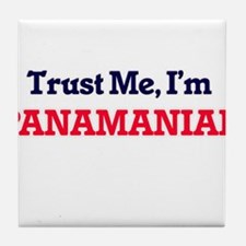 Trust Me, I'm Panamanian Tile Coaster