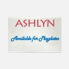 Ashlyn - Available For Playda Rectangle Magnet (10