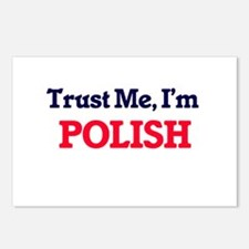 Trust Me, I'm Polish Postcards (Package of 8)
