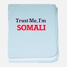 Trust Me, I'm Somali baby blanket