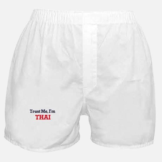 Trust Me, I'm Thai Boxer Shorts