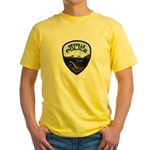 Oroville Police Yellow T-Shirt