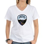 Oroville Police Women's V-Neck T-Shirt