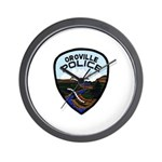 Oroville Police Wall Clock