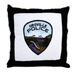Oroville Police Throw Pillow