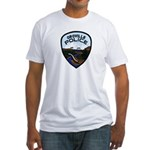 Oroville Police Fitted T-Shirt