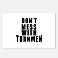 Don't Mess With Turkmenis Postcards (Package of 8)