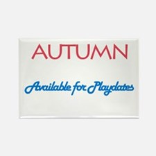 Autumn - Available For Playda Rectangle Magnet (10