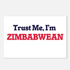 Trust Me, I'm Zimbabwean Postcards (Package of 8)