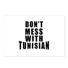 Don't Mess With Tunisia Postcards (Package of 8)
