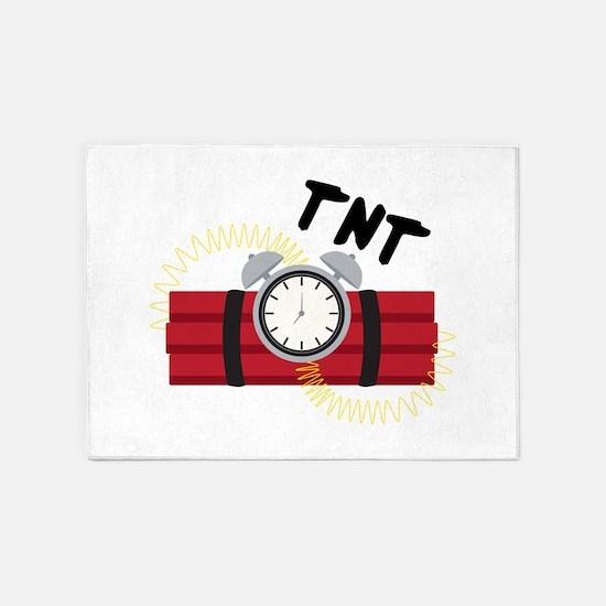 TNT Explosive 5'x7'Area Rug