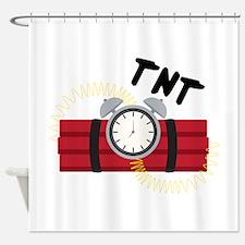 TNT Explosive Shower Curtain