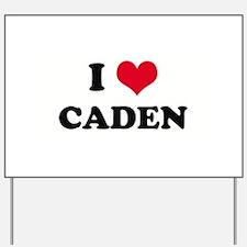 I HEART CADEN  Yard Sign