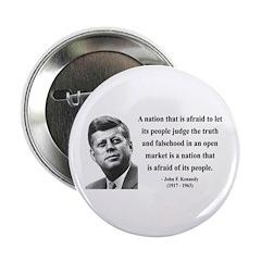 "John F. Kennedy 11 2.25"" Button"