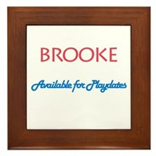 Brooke - Available For Playda Framed Tile