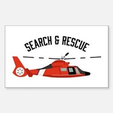 Search Rescue Decal