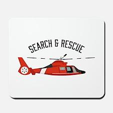 Search Rescue Mousepad