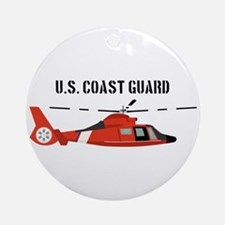 US Coast Guard Round Ornament
