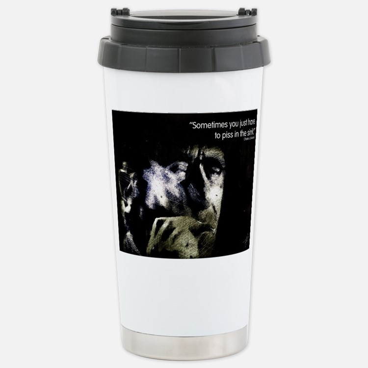 Cute Charles design Travel Mug