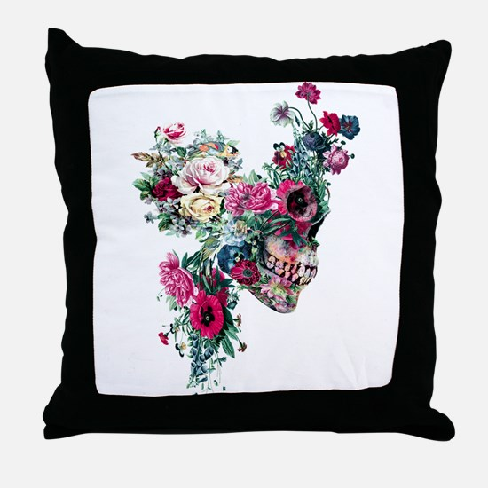 Skull VII Throw Pillow