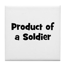 Product of a Soldier Tile Coaster