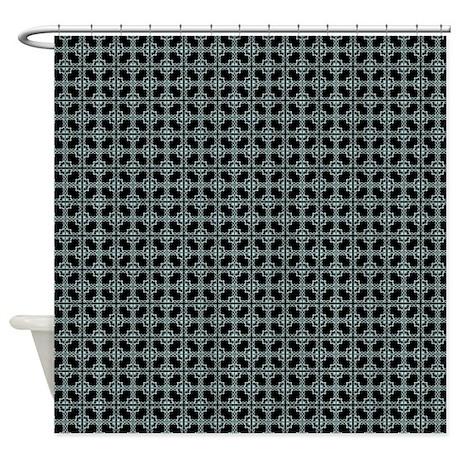 FANCY TILE Shower Curtain By GypsyChicks