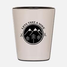 Unique Hike Shot Glass