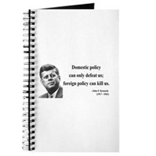 John F. Kennedy 12 Journal